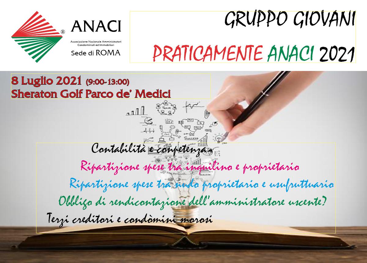 GG ROMA: PRATICAMENTE ANACI 2021