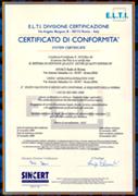 anaci roma certificata