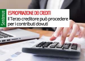 espropriazione crediti condominio