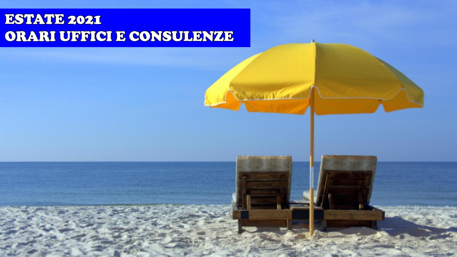 Orario uffici - consulenze e servizi