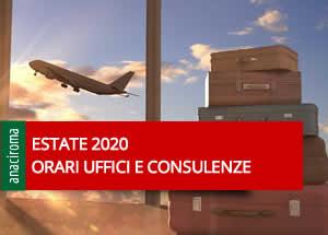 Orari uffici - consulenze e servizi
