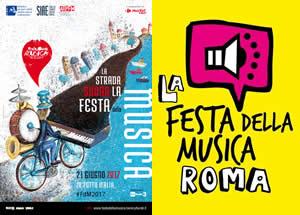 roma festa della musica 2017