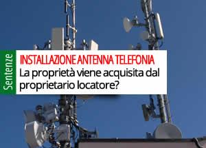 installazione antenna telefonia