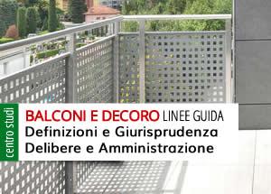 balconi e decoro