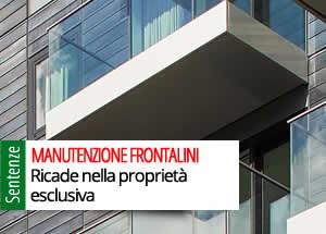 Manutenzione frontalini balconi