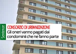 Oneri consorzio di urbanizzazione