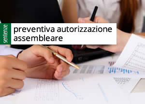 ratifica assembleare
