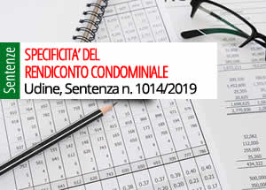 specificità del rendiconto condominiale