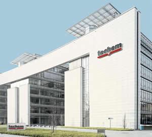 La sede centrale Techem
